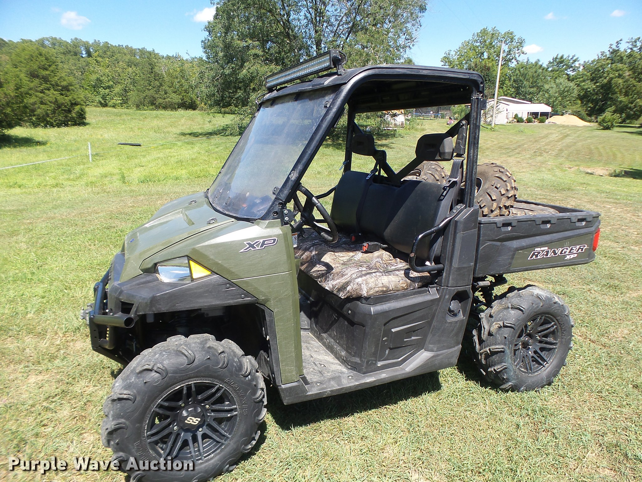 2015 Polaris Ranger >> 2015 Polaris Ranger Xp 900 Utv Item Db5843 Sold August