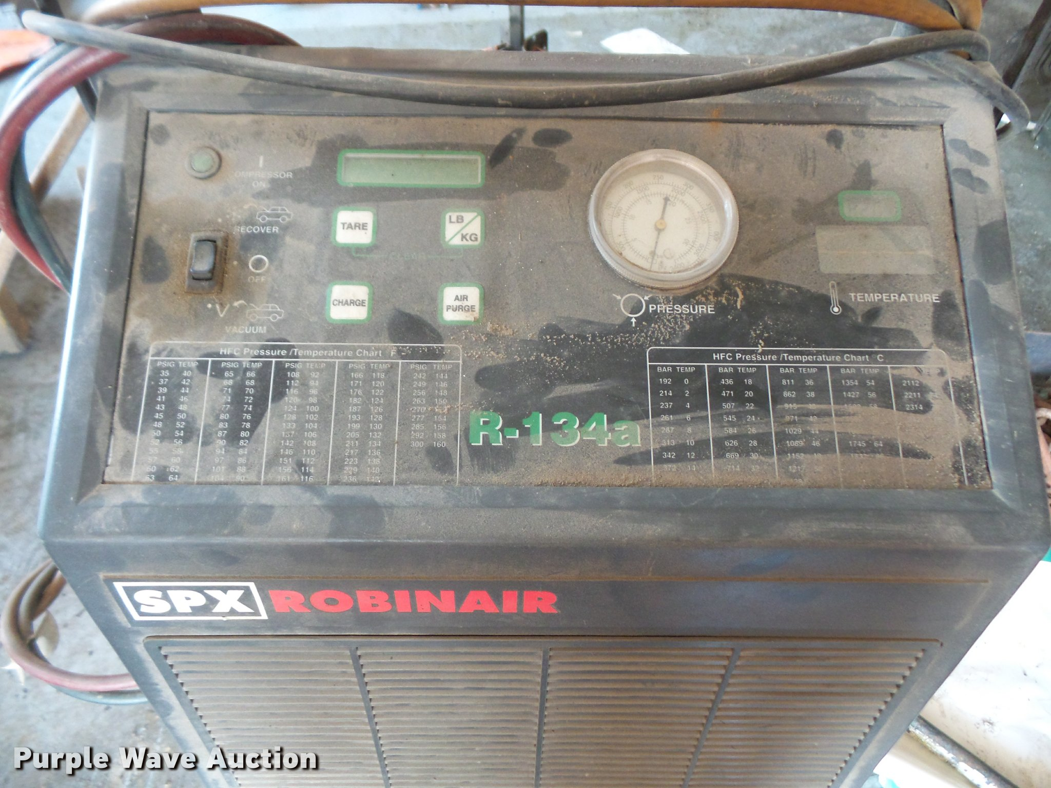 Robinair Spx Cooltech 134 Ac Unit Item Dk9415 Sold Augu Wiring Diagram Full Size In New Window