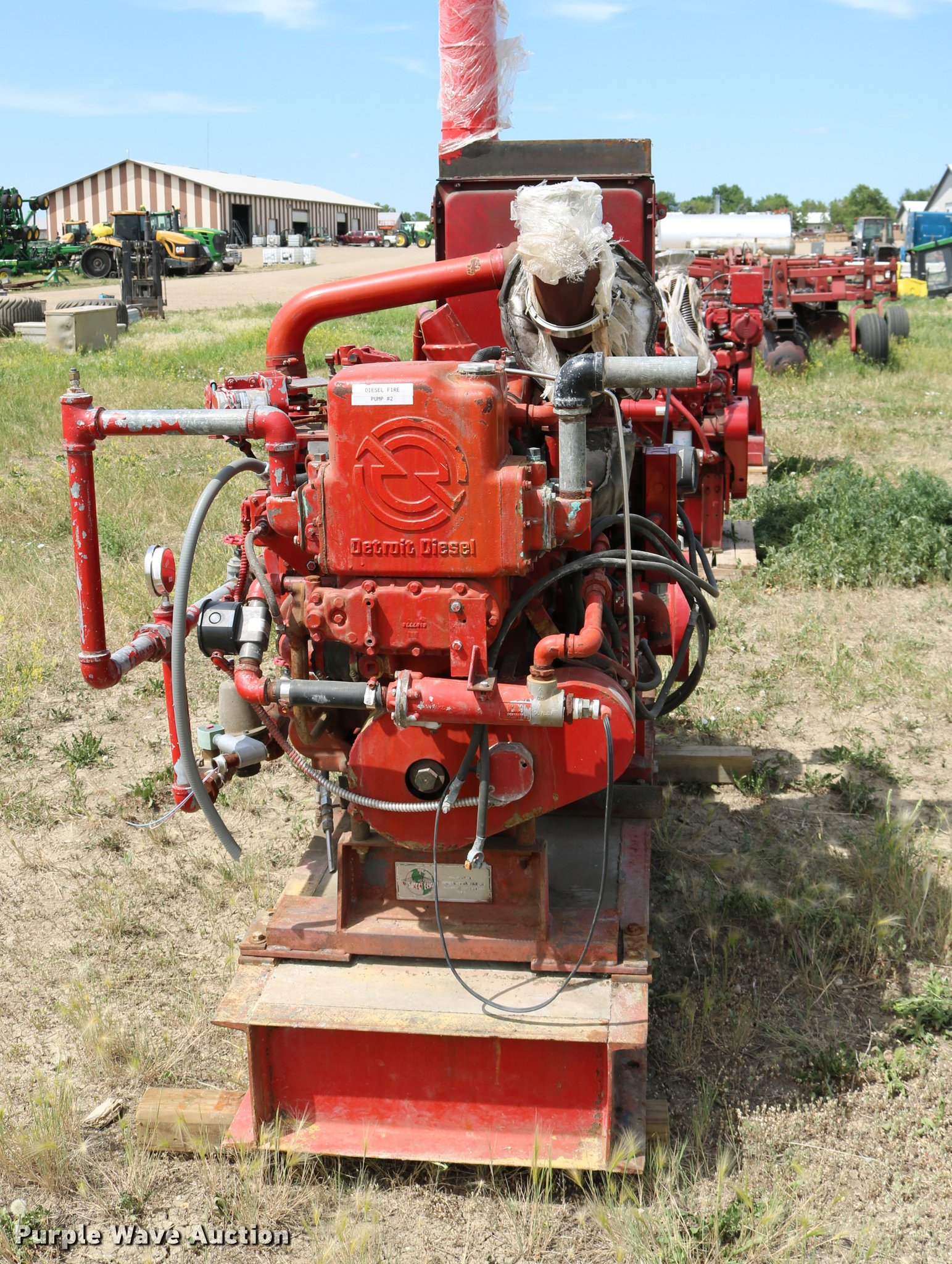 Aurora centrifugal pump | Item DM9412 | SOLD! August 30 Vehi