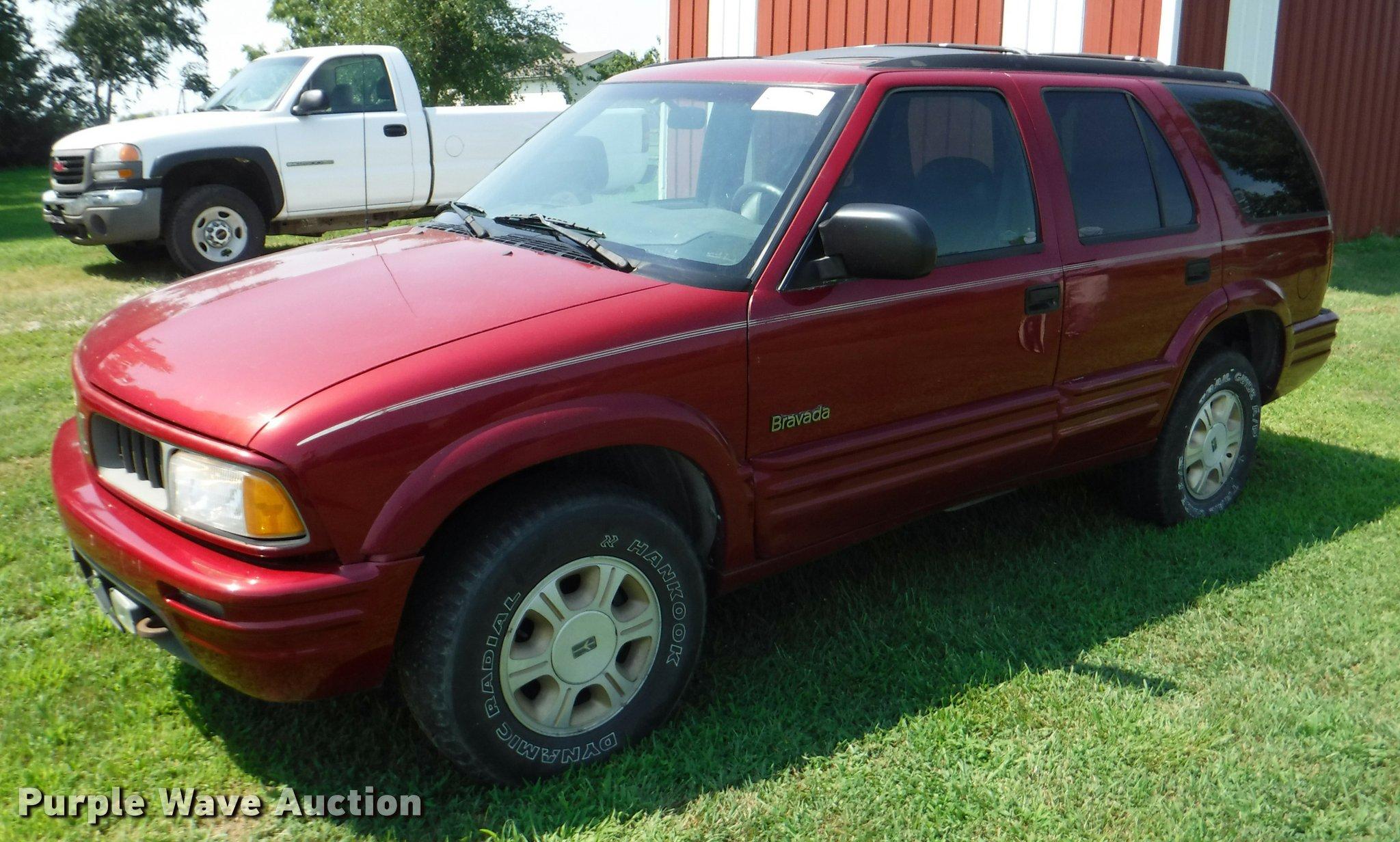 1997 Oldsmobile Bravada Suv 2000 Wiring Diagram Item K5926 Sold August 30 V Rh Purplewave Com 1999 Olds
