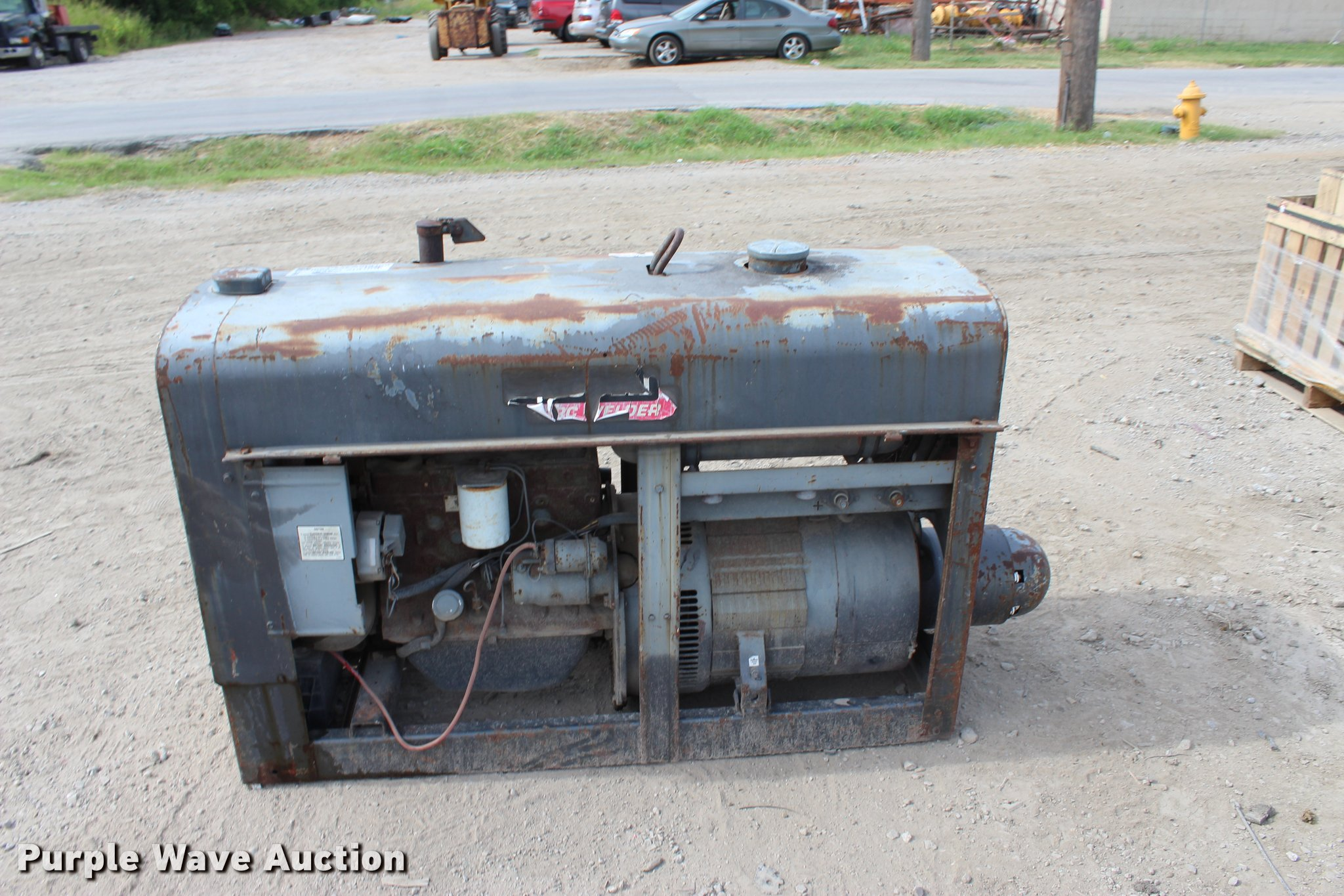 Lincoln Sa 200 F 163 Arc Welder Item L3186 Sold August Parts Full Size In New Window