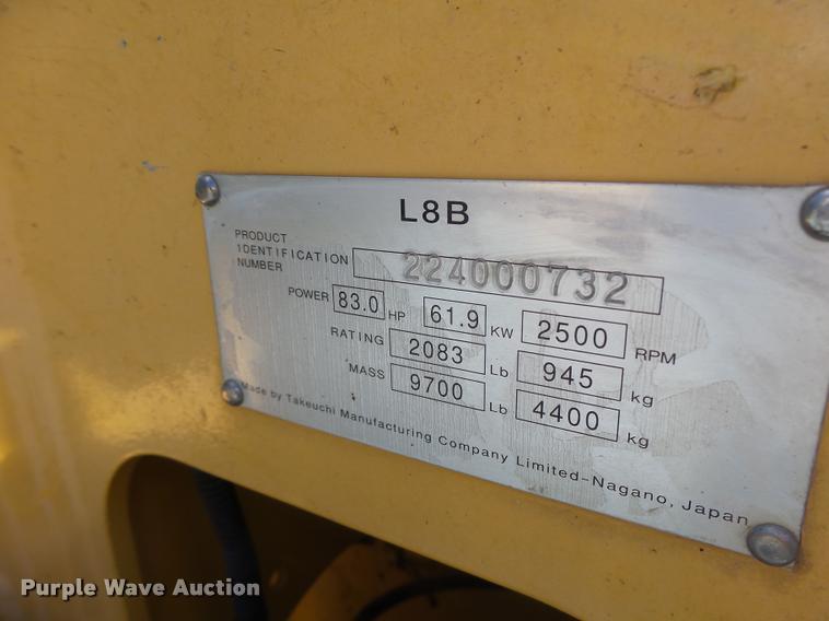 2010 Gehl CTL75 skid steer | Item DB5839 | SOLD! August 31 C