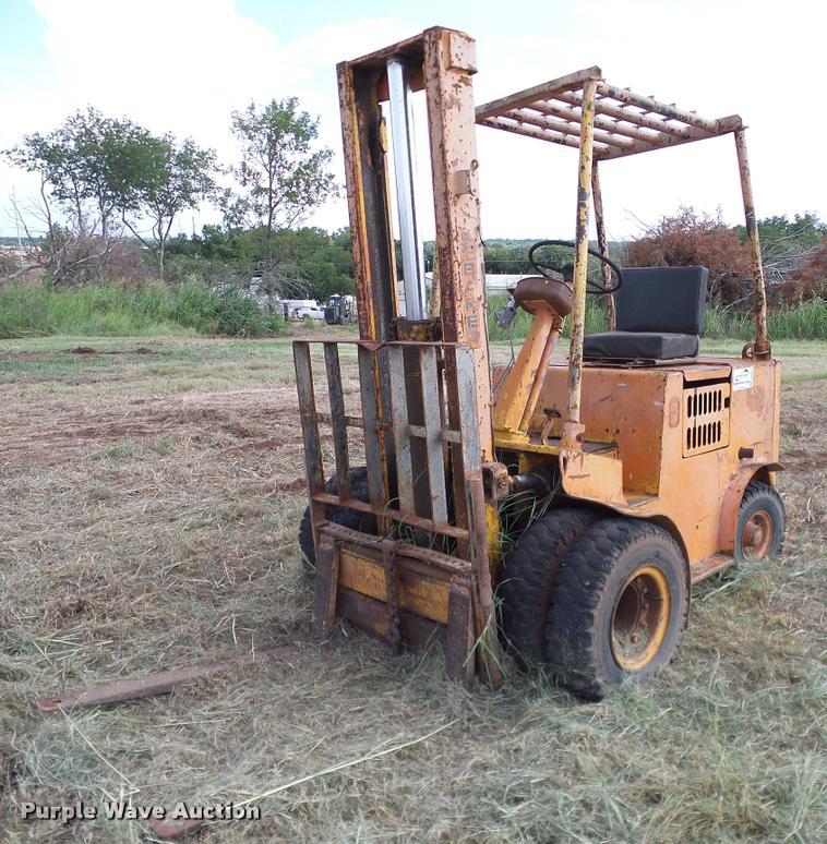 1964 Baker Fjf 040 M01 Forklift In Stillwater Ok Item Da6844 Sold Purple Wave
