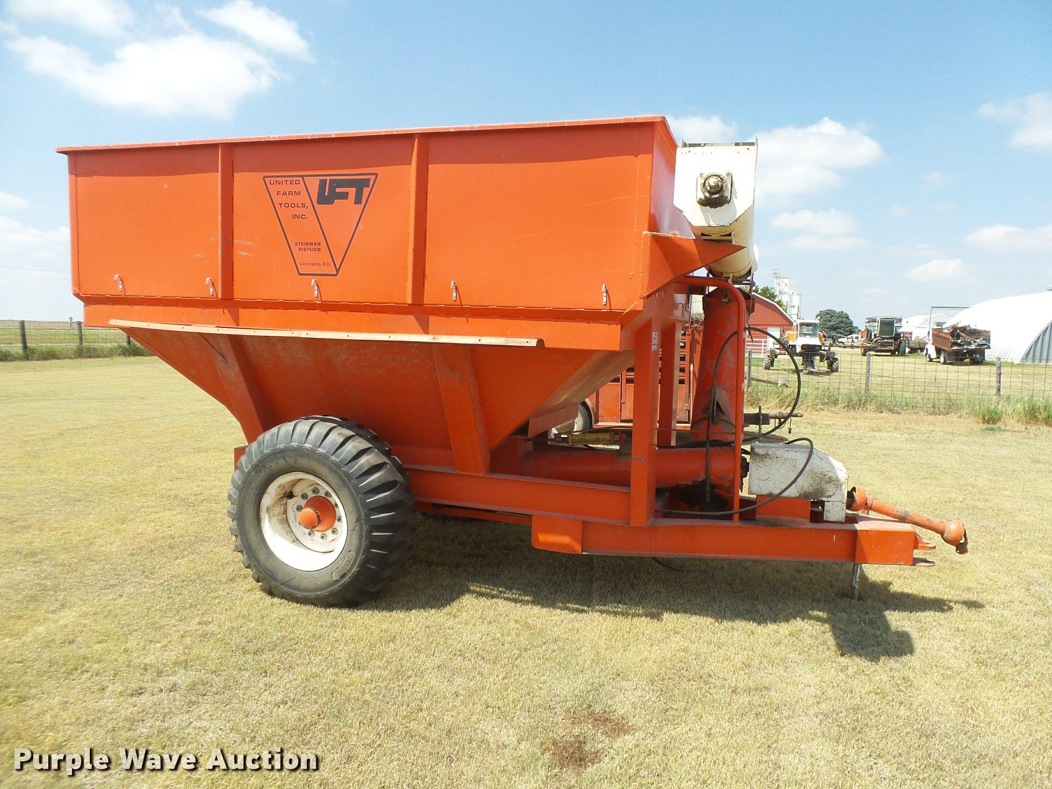 ... United Farm Tools grain cart Full size in new window ...