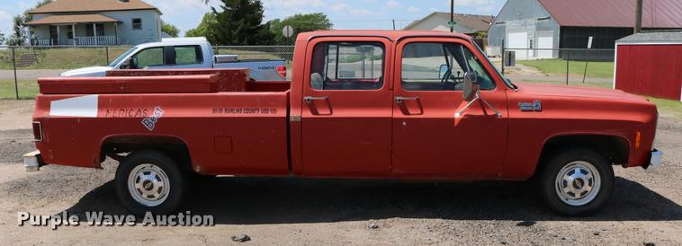 1980 chevy truck crew cab