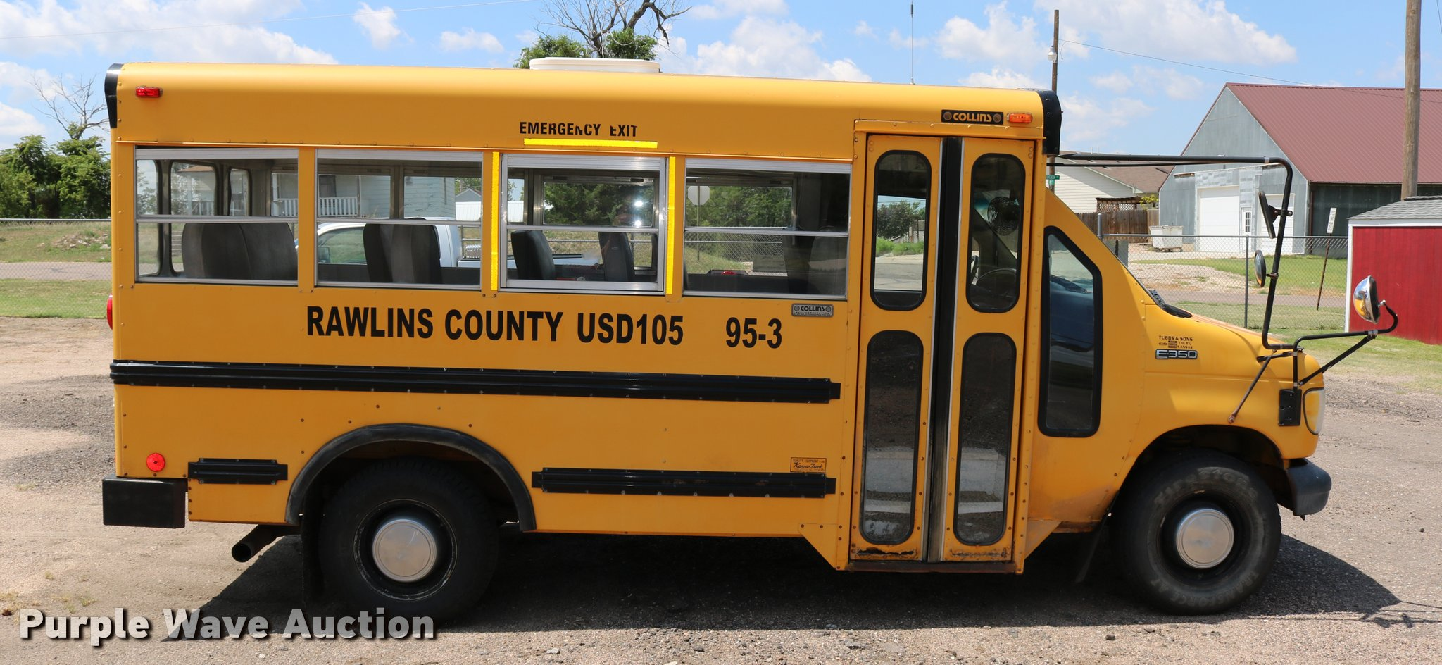 Collins E350 Rear Brake And Chevy 350 Hei Distributor Wiring Diagram School Bus 1995 Ford Econoline Item Db9271 Db9271c