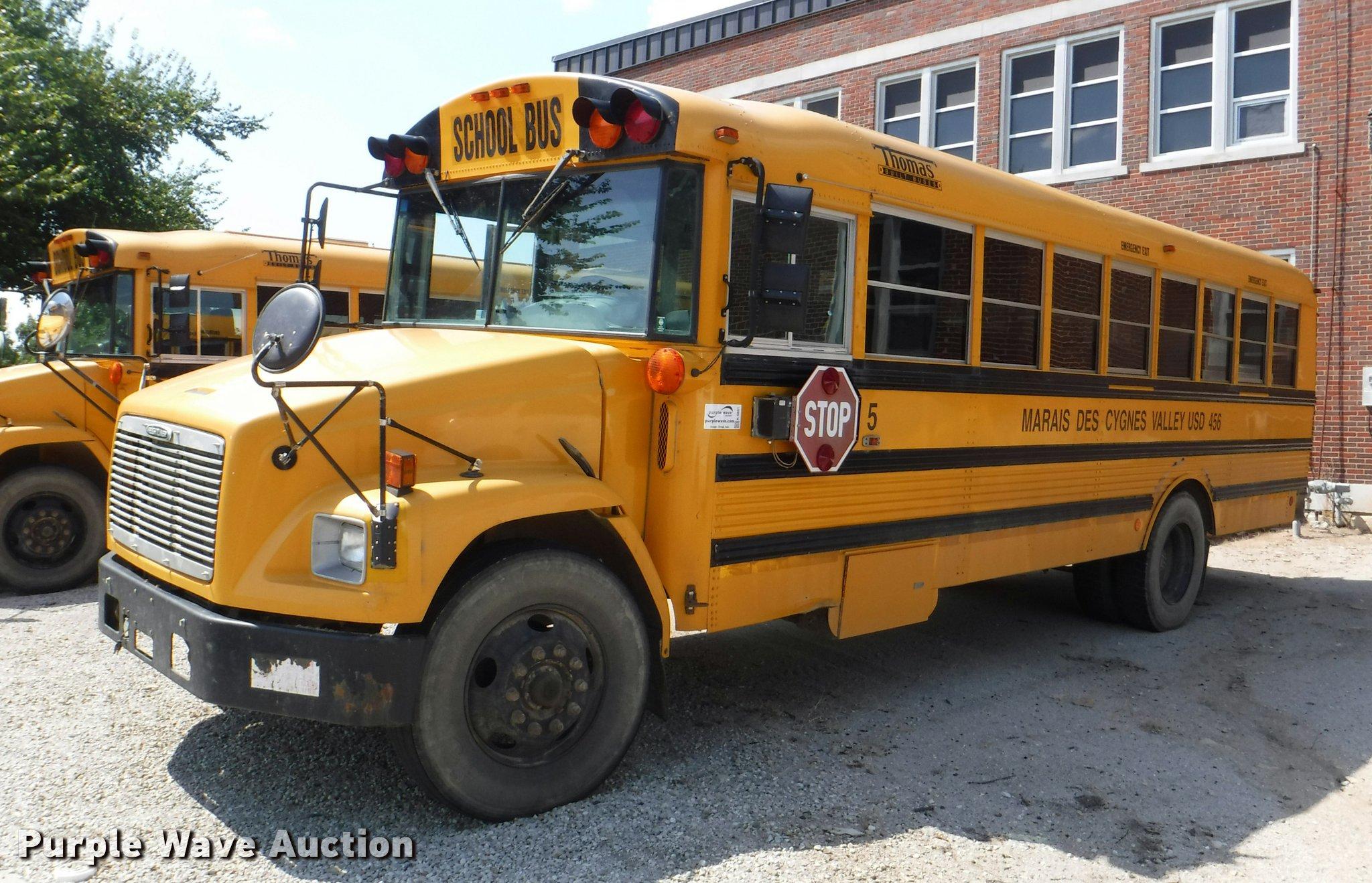 2002 Freightliner Fs65 Thomas School Bus Item K5891 Sold. Full Size In New Window. Freightliner. Freightliner Fs65 Heater Wiring At Scoala.co
