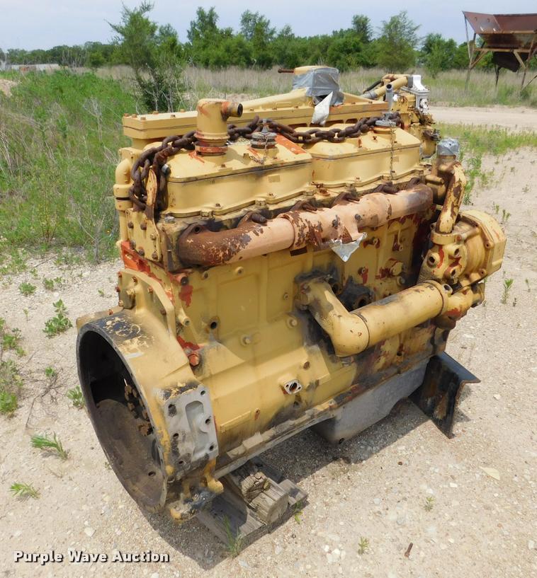 Caterpillar 3406 Six Cylinder Diesel Engine Core Item DE97