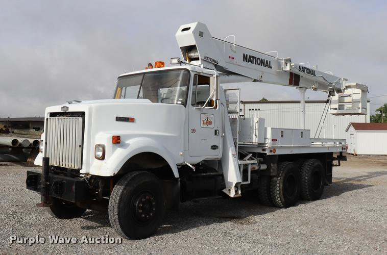 Crane Truck For Sale >> 1984 Autocar 875 Crane Truck Item Dq9443 Sold September