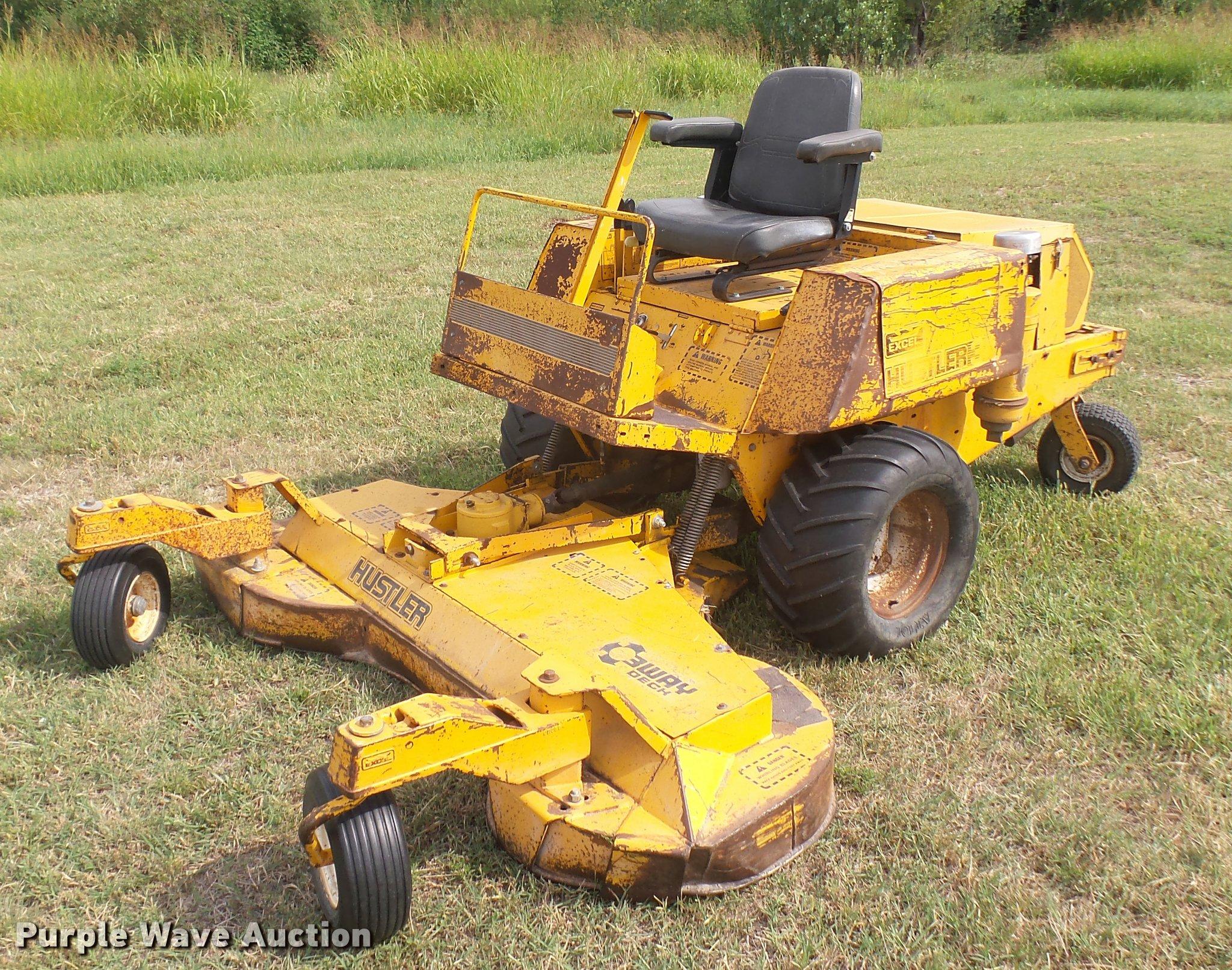 Hustler hillside mower — pic 4
