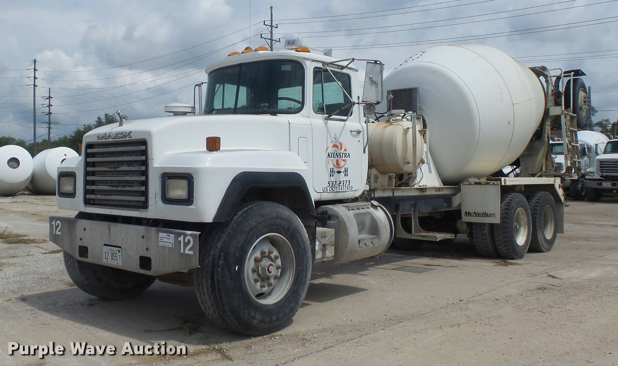 1999 mack rd690s ready mix truck item k7516 sold septem rh purplewave com Mack RD690S Horsepower Mack RD690S Horsepower