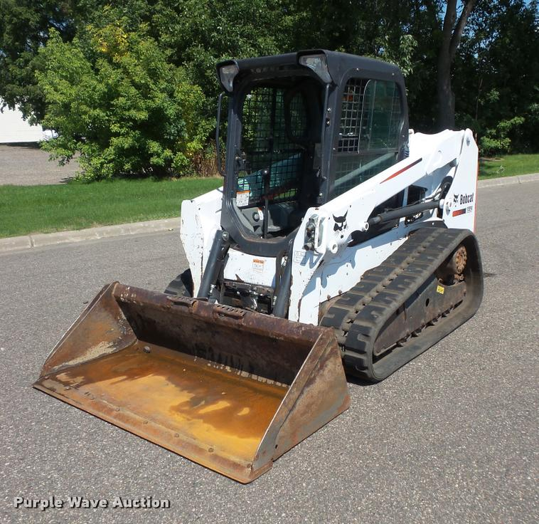 2014 Bobcat T550 skid steer | Item DB8198 | SOLD! September