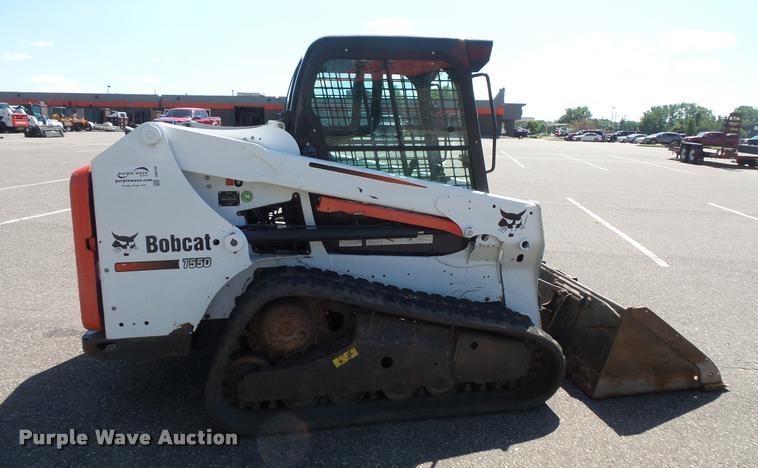 2014 Bobcat T550 skid steer | Item DB8198 | SOLD! September