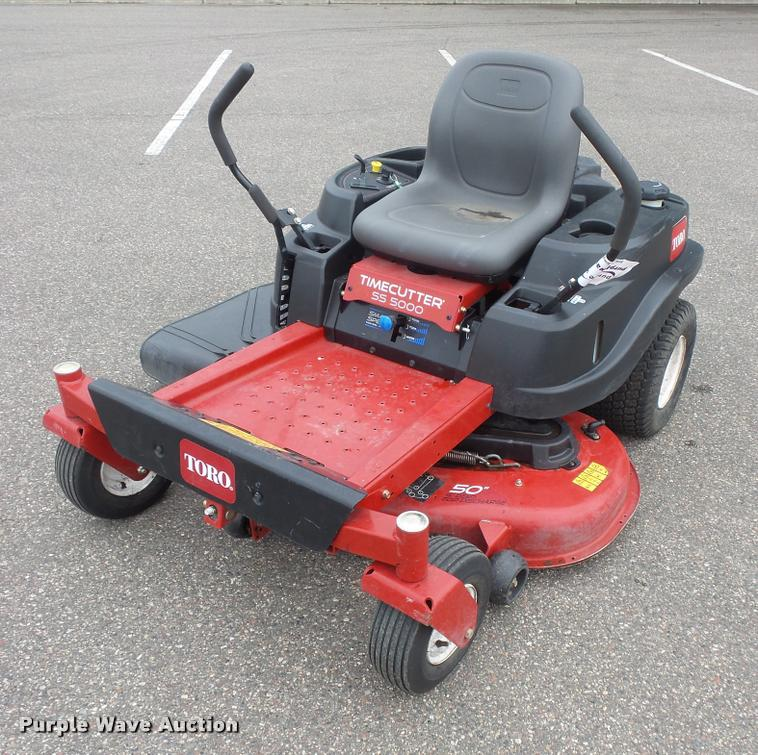 toro timecutter ss5000 lawn mower item dc2724 sold! sept 42 inch toro zero turn 2015 toro timecutter ss5000 for sale in