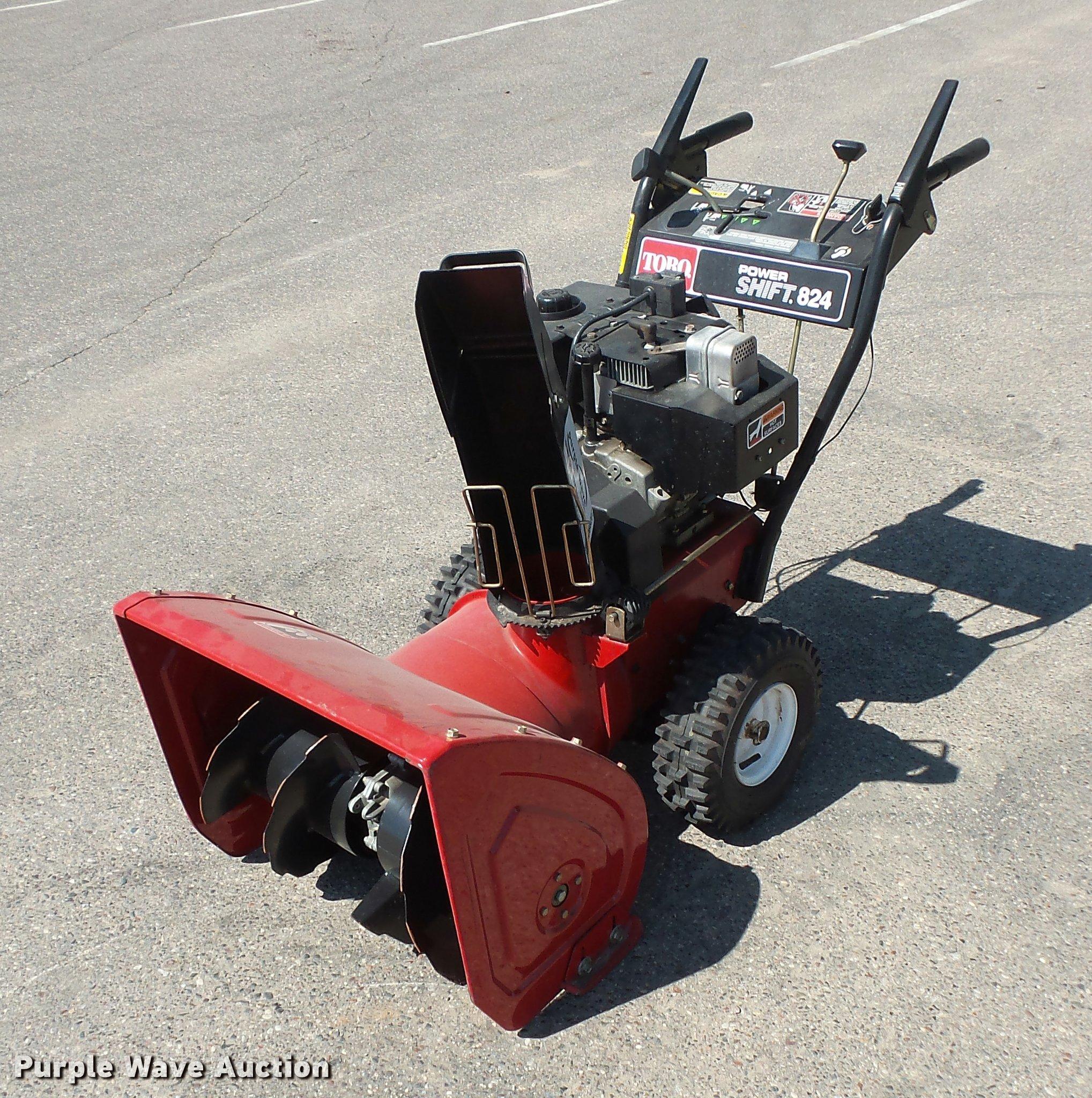 Toro Power Shift 824 Snow Blower