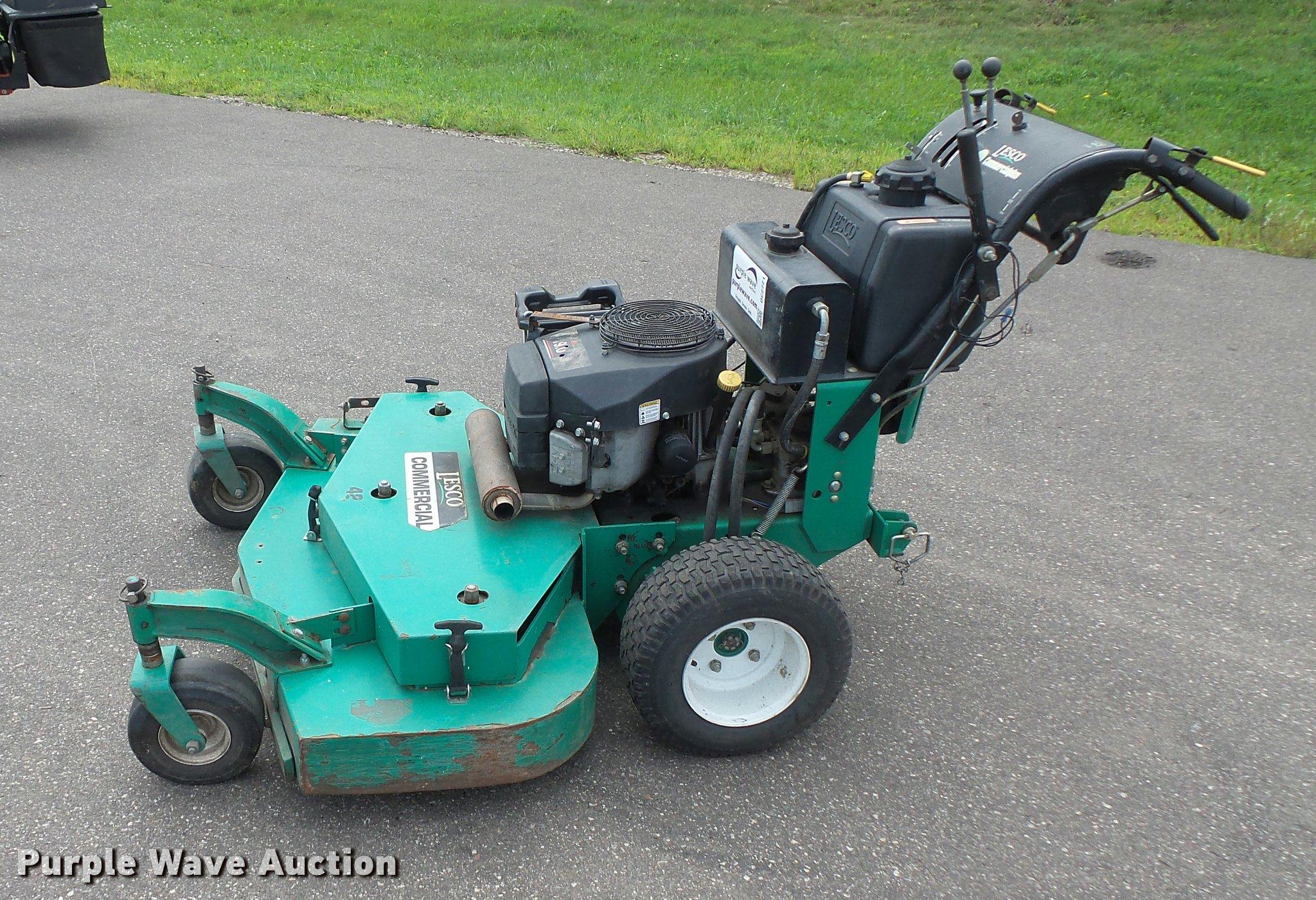 ... Lesco Commercial Plus lawn mower Full size in new window ...