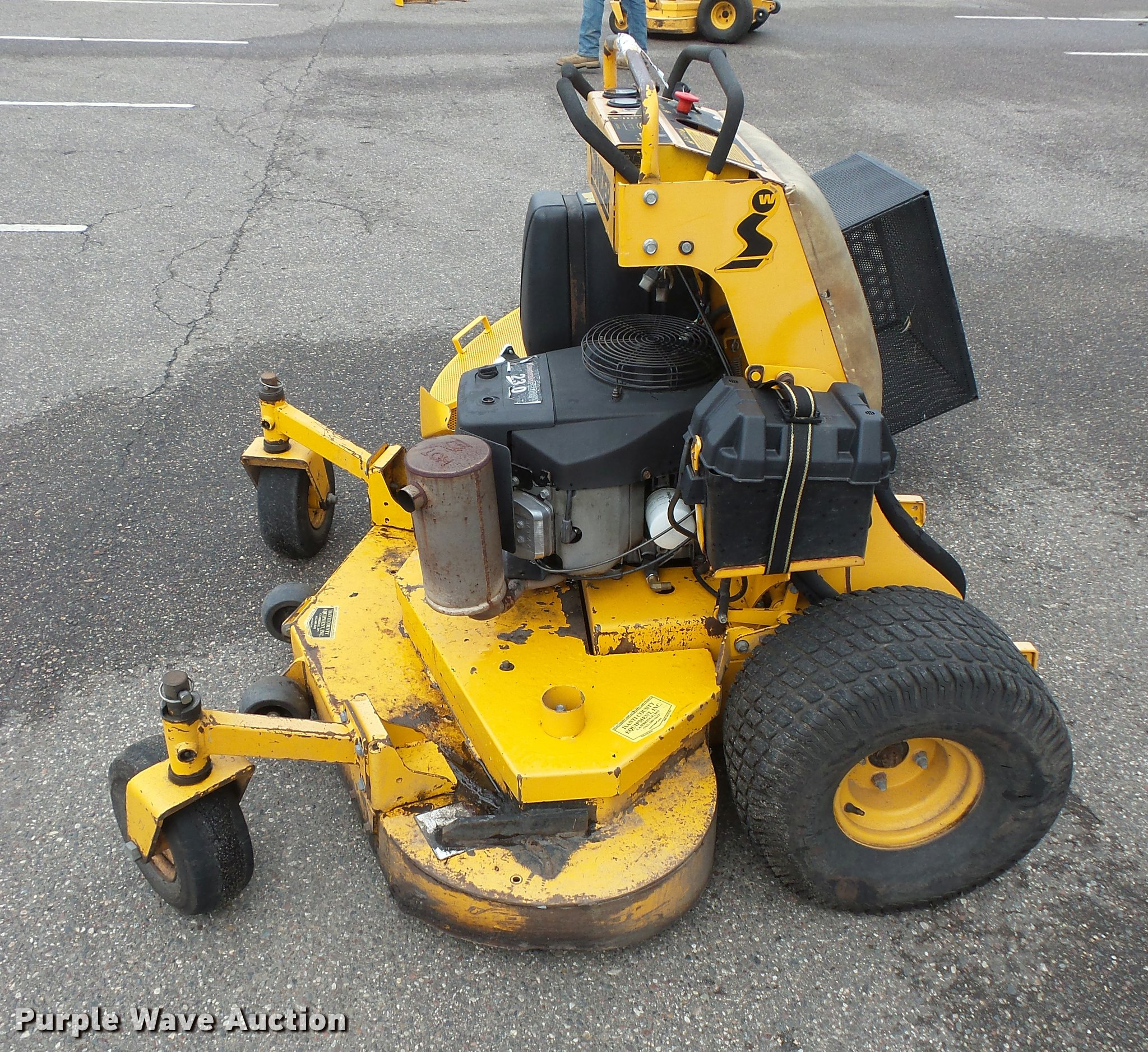 Wright Stander lawn mower | Item DC2722 | SOLD! September 19