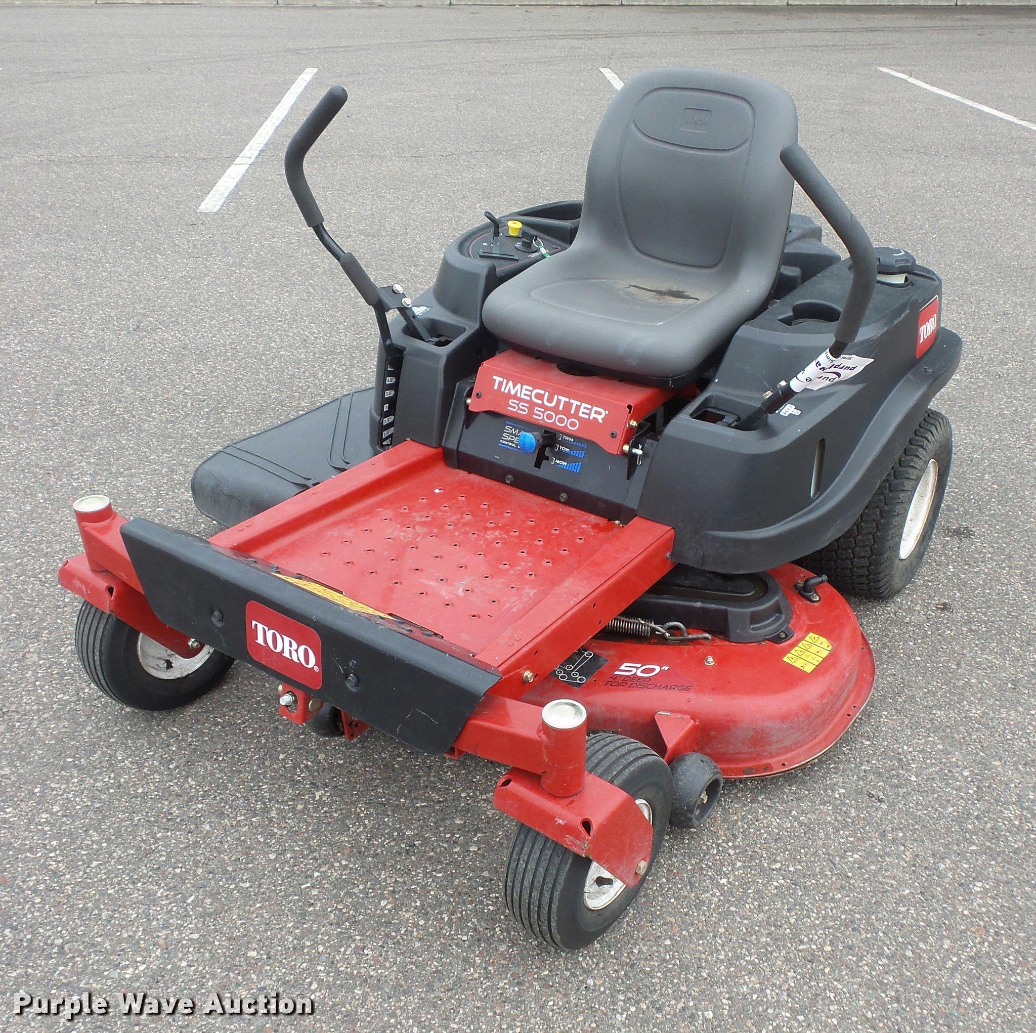 Toro Timecutter SS5000 lawn mower   Item DC2724   SOLD! Sept