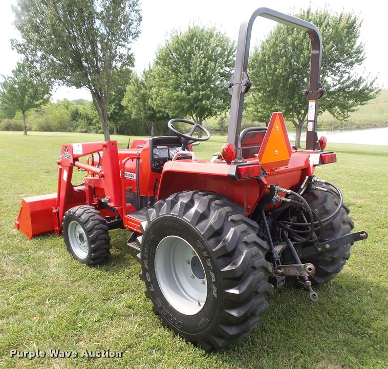 2000 massey ferguson 1240 mfwd tractor item dc5412 sold rh purplewave com Massey Ferguson Front Loader Massey Ferguson Front End Loader