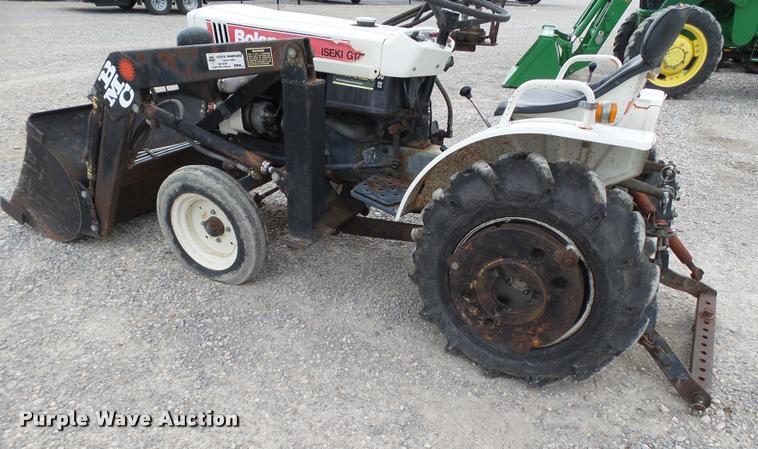 Bolens Iseki TX1500 G1721 tractor   Item DL9028   SOLD! Sept