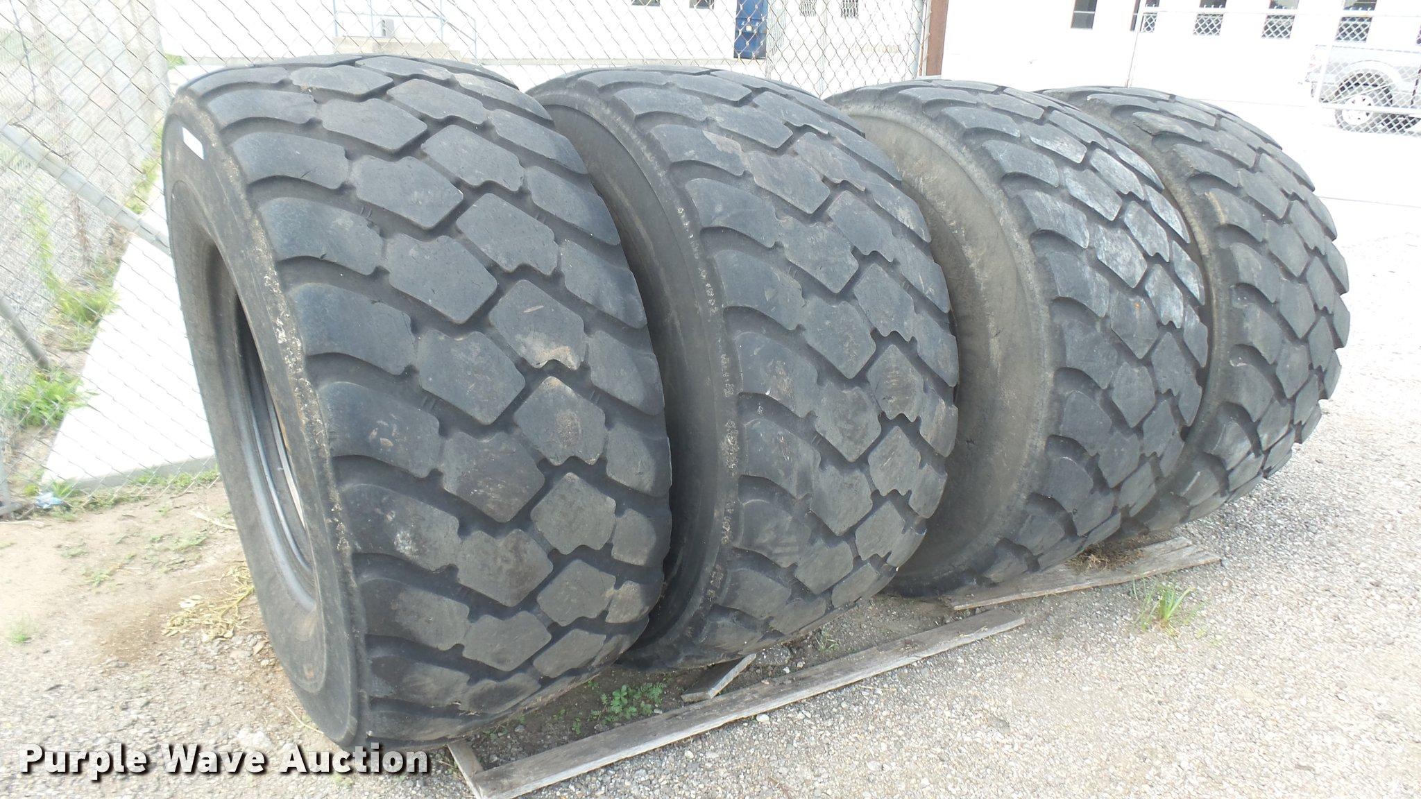 4 Michelin Xld L3 650 65r25 Tires Item Dl9923 Sold Se