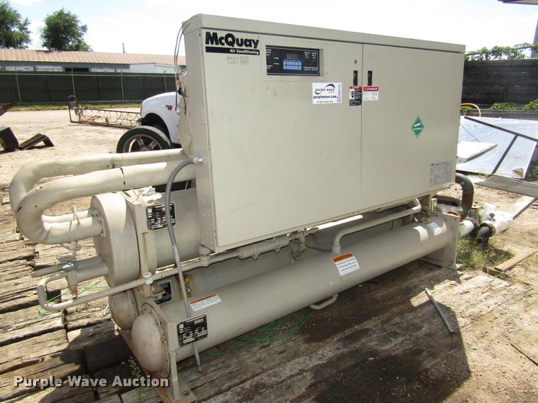 1999 McQuay Water Cooled Reciprocating Chiller Templifier He