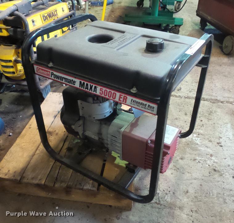 Coleman Powermate Maxa 5000ER generator | Item DP9203 | SOLD