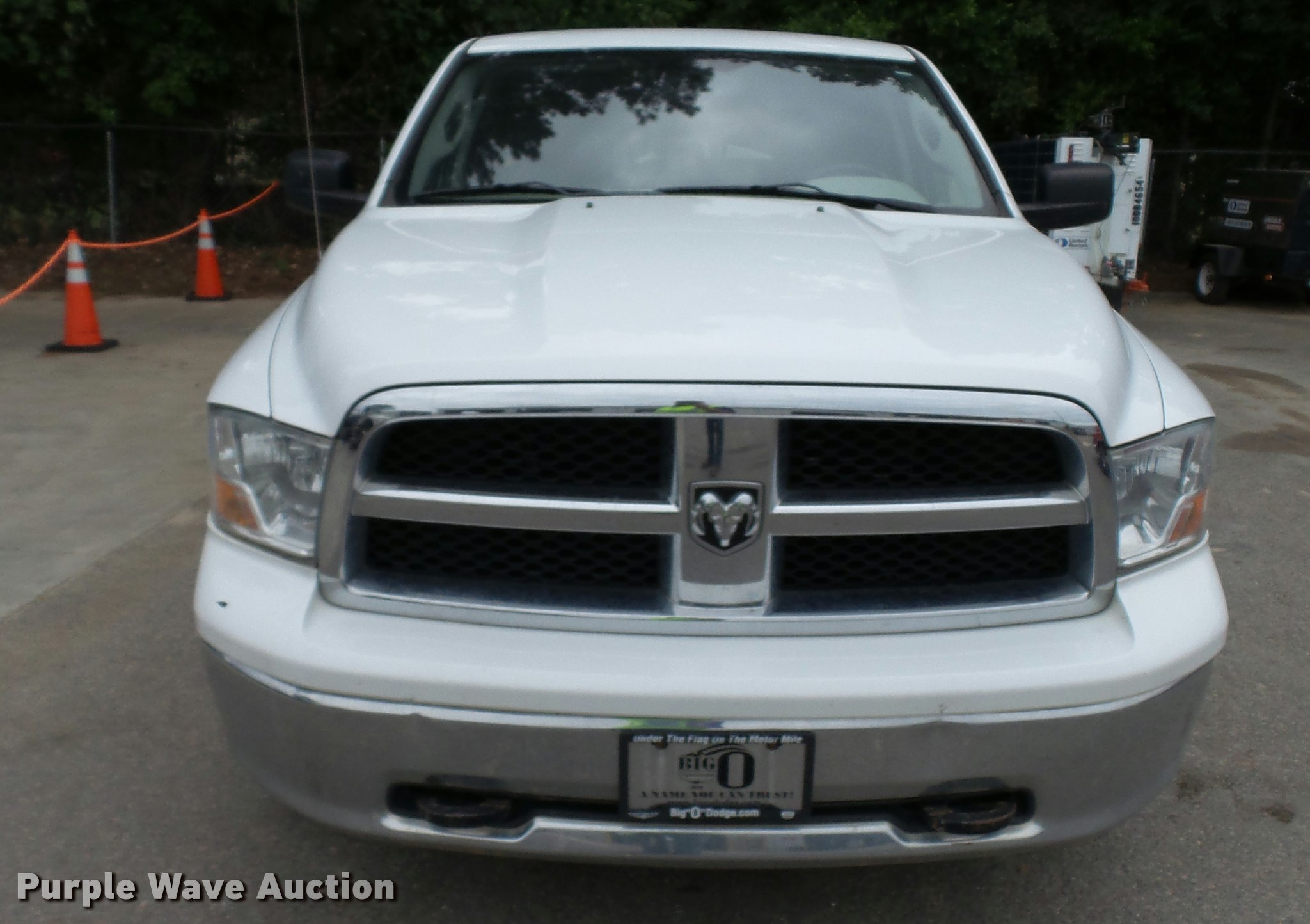 2011 Dodge Ram 1500 Quad Cab pickup truck Item DA1219