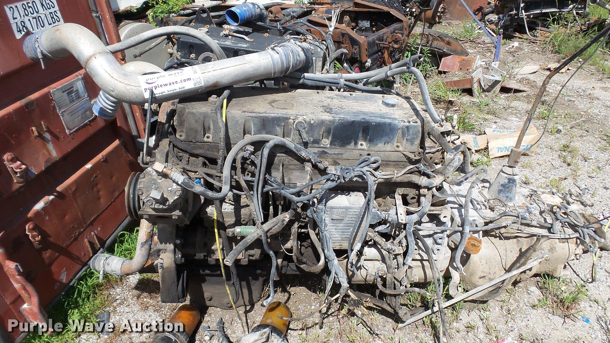 Cummins M11 10 8L six cylinder turbo diesel engine | Item DC