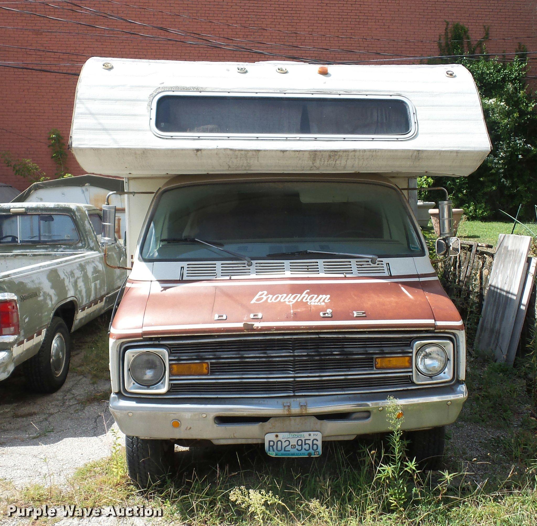 1975 Dodge Motorhome