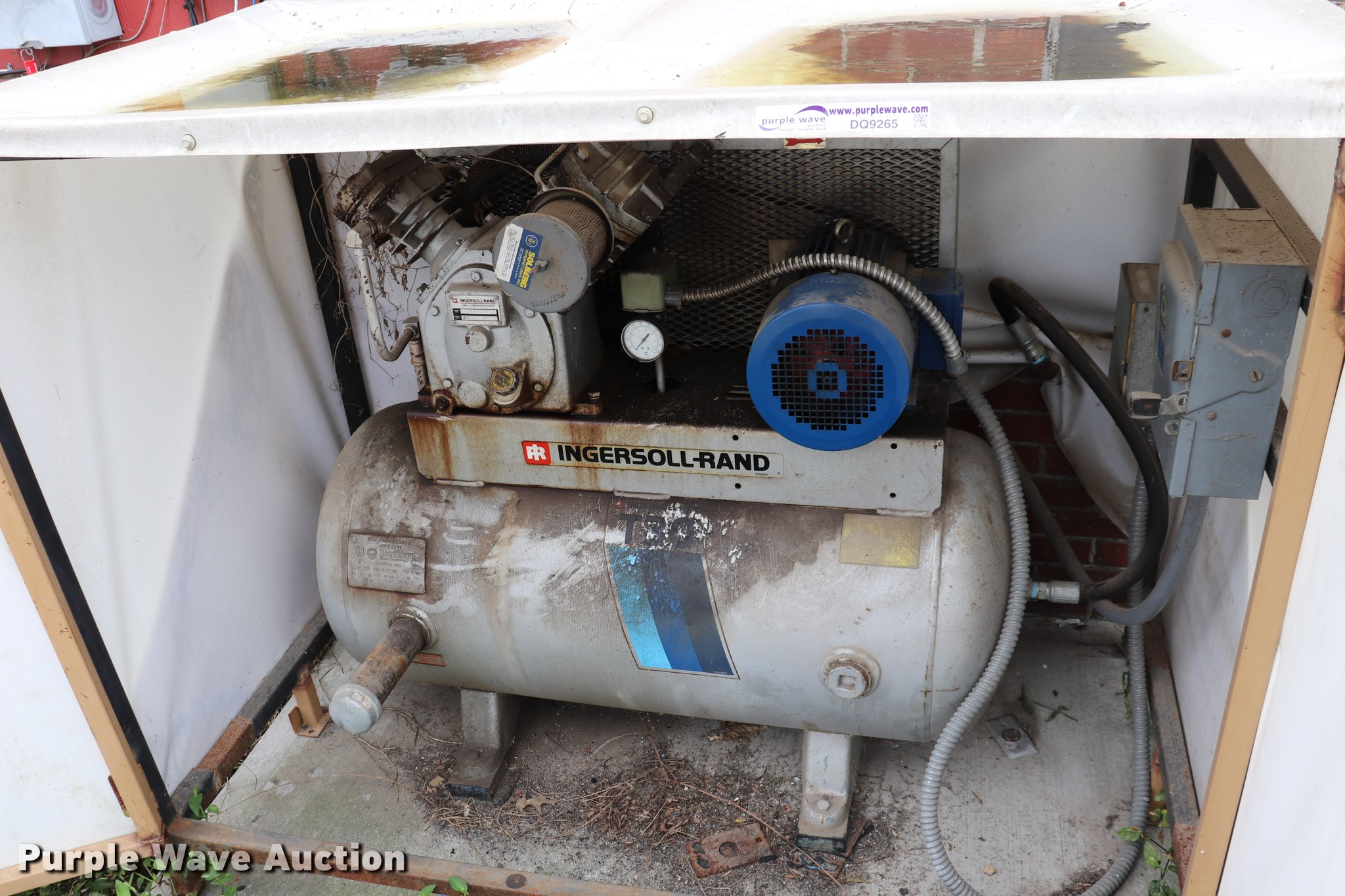 1998 Ingersoll Rand 242 5c Air Compressor Item Dq9265 So Sullair 185 Wiring Diagram Full Size In New Window