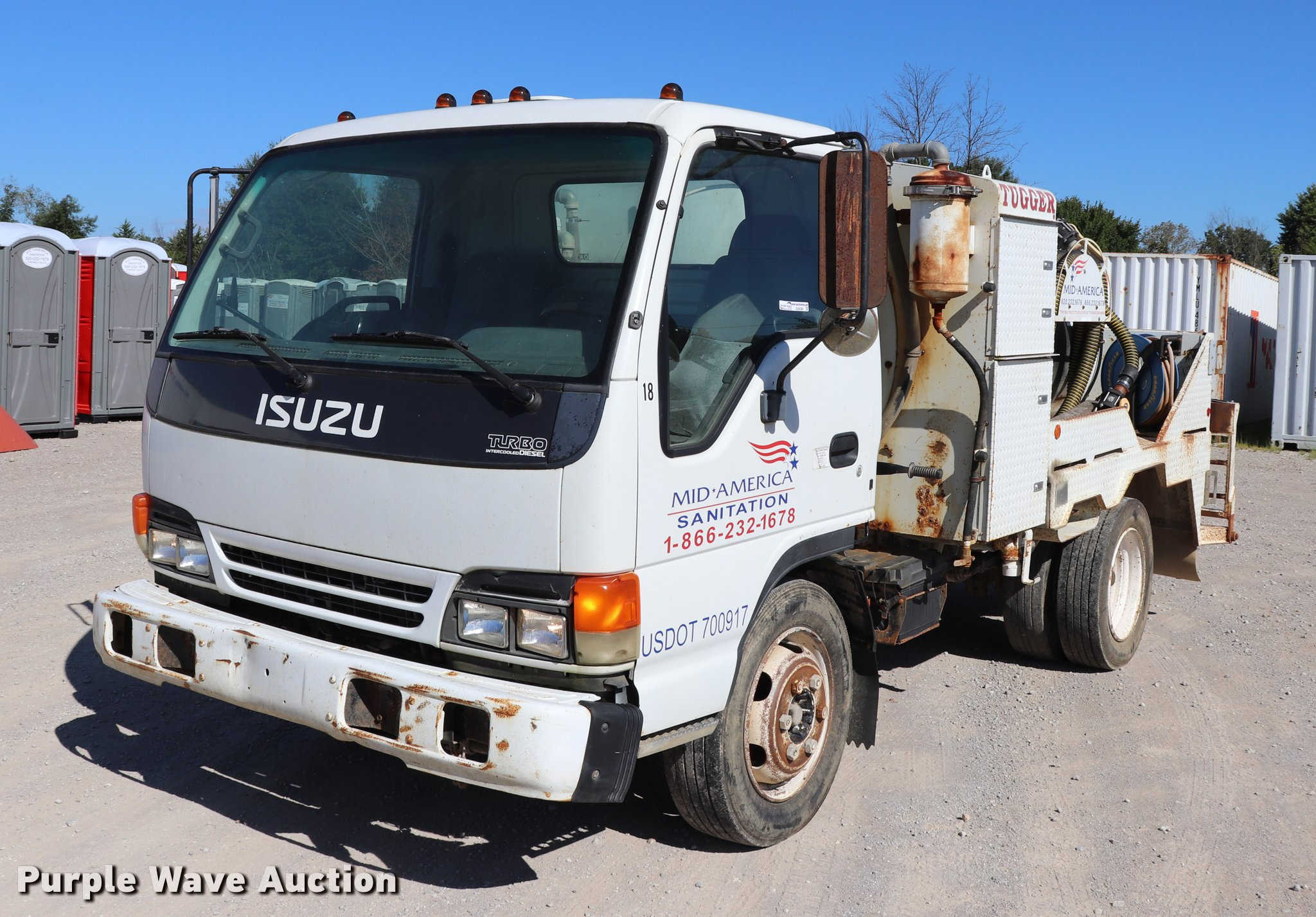 2003 Isuzu NPR vacuum truck | Item DQ9380 | SOLD! September