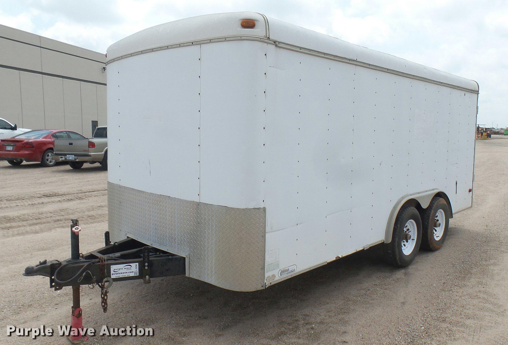 1999 Southwest Express Line enclosed cargo trailer