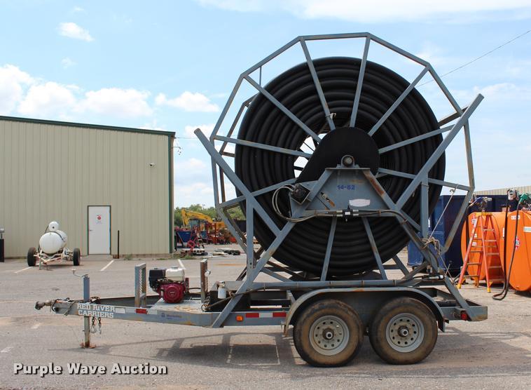 2013 Palm pipe reel trailer | Item L1937 | SOLD! September 2
