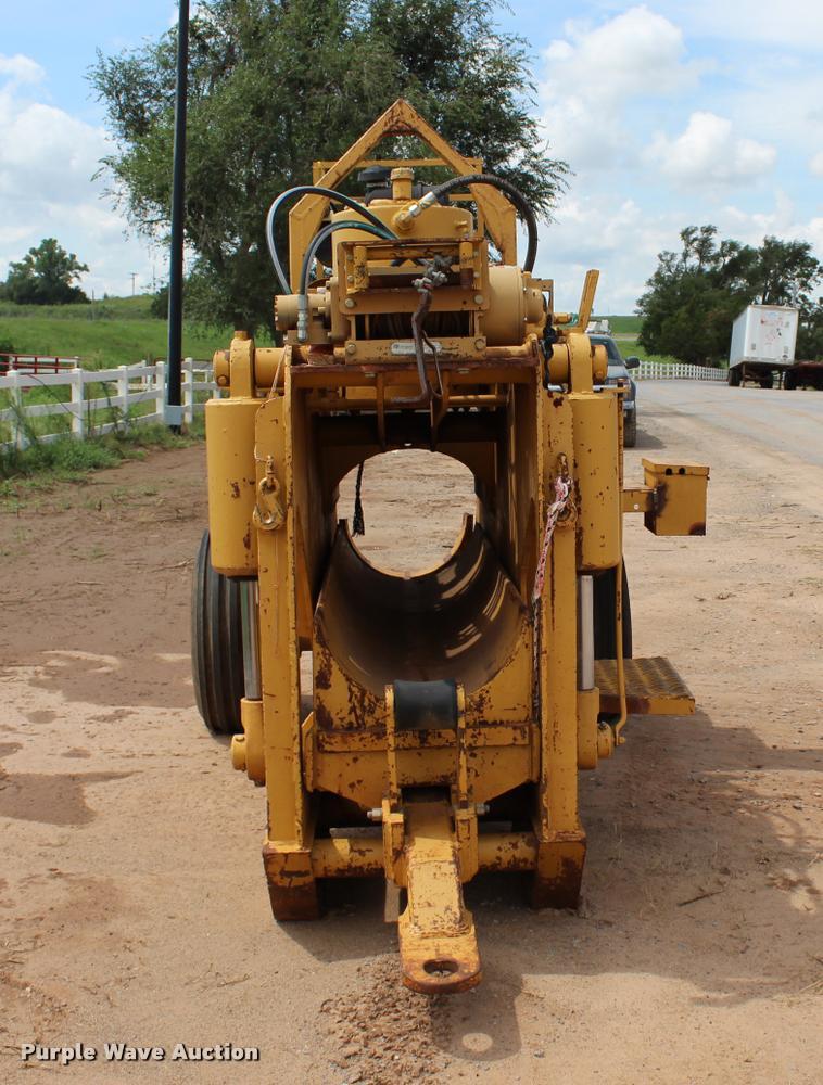 Crc-evans PB6-20 pipe bending machine | Item L3233 | SOLD! S