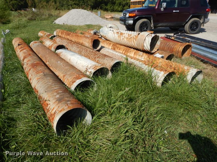 11) assorted pieces of used culvert pipe | Item BY9981 | SO