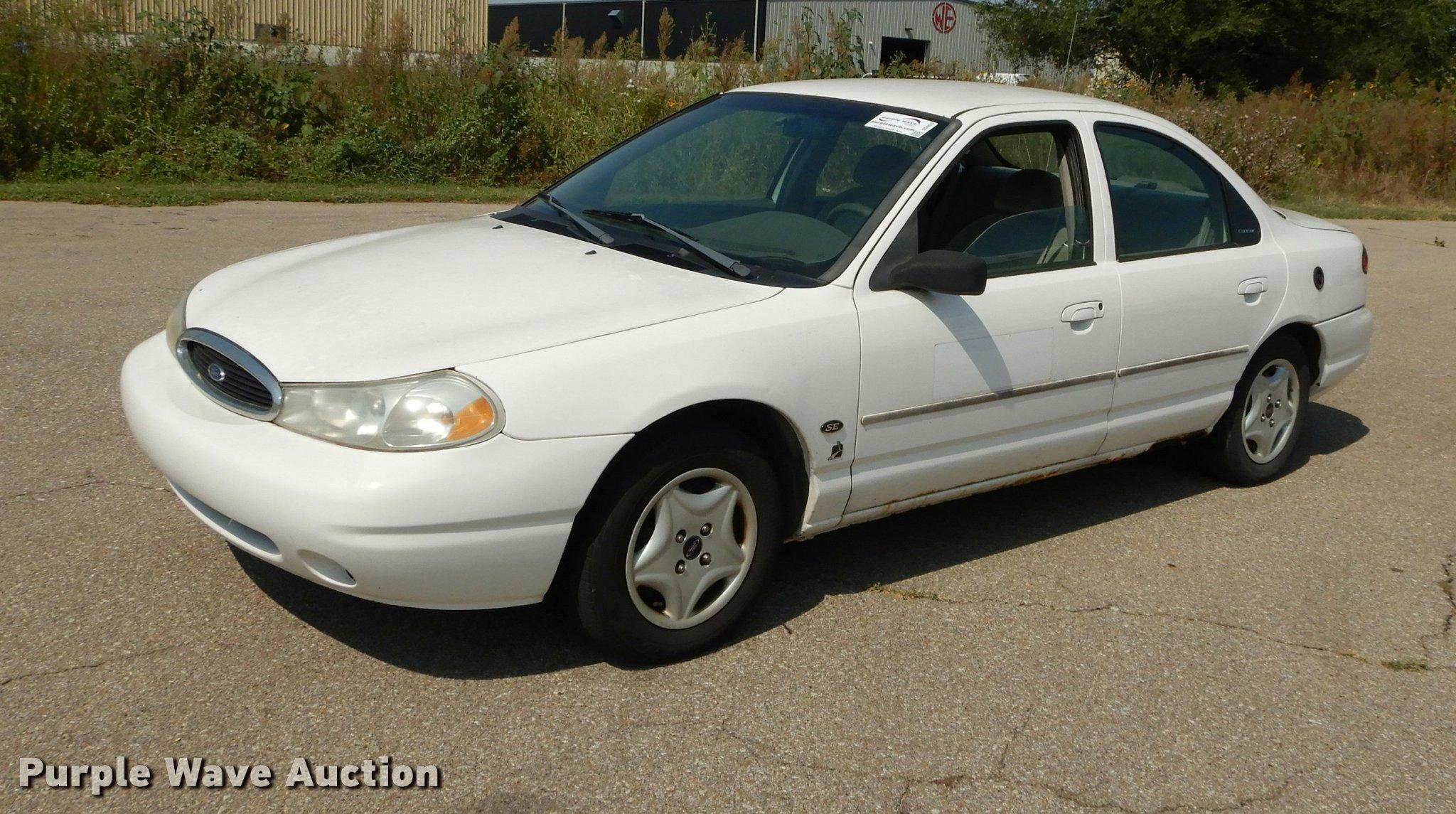 2000 ford contour se item dd0825 sold october 3 governm rh purplewave com Ford Contour Engine Ford Contour Interior