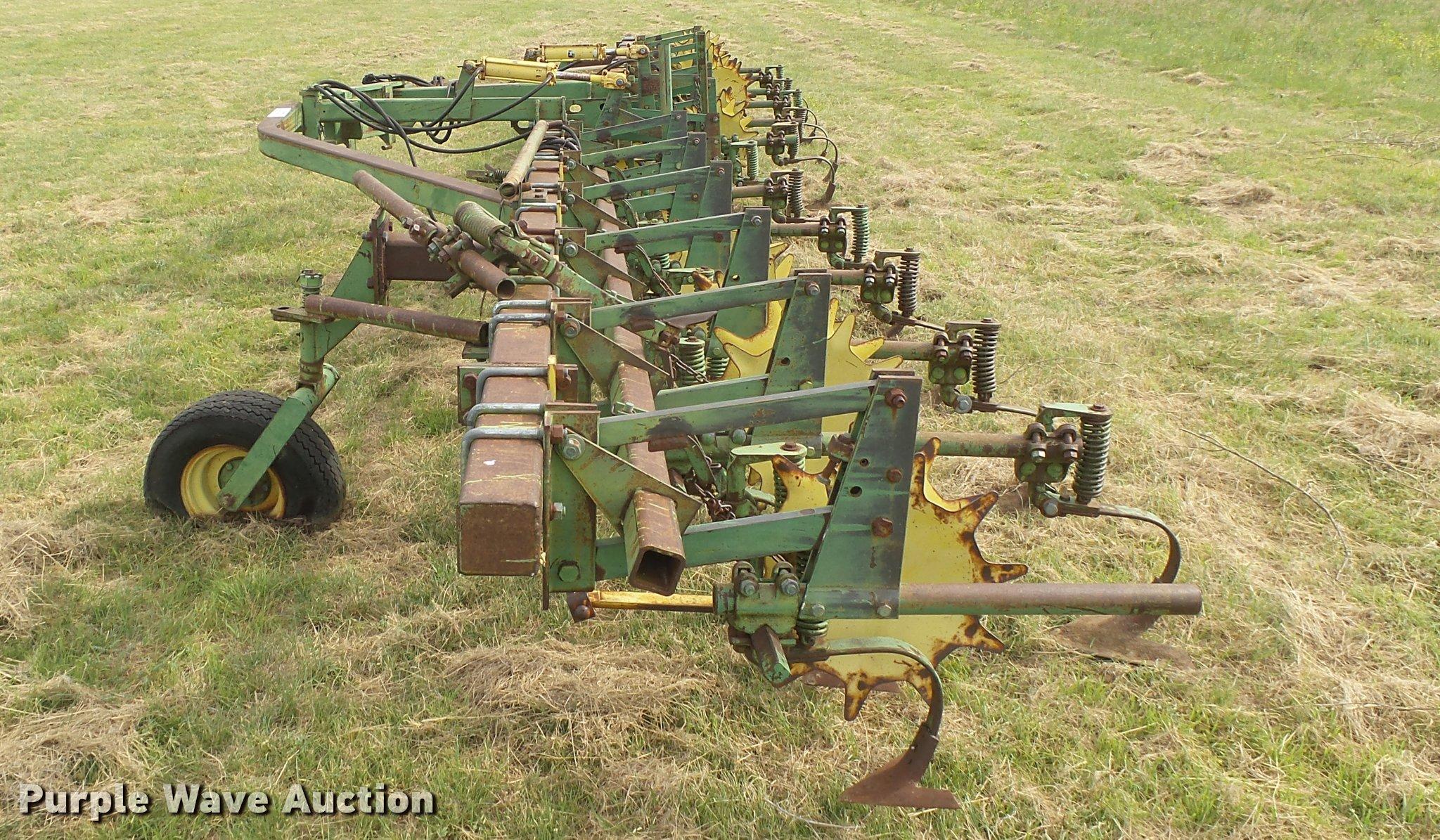 John Deere Front Mount Cultivator