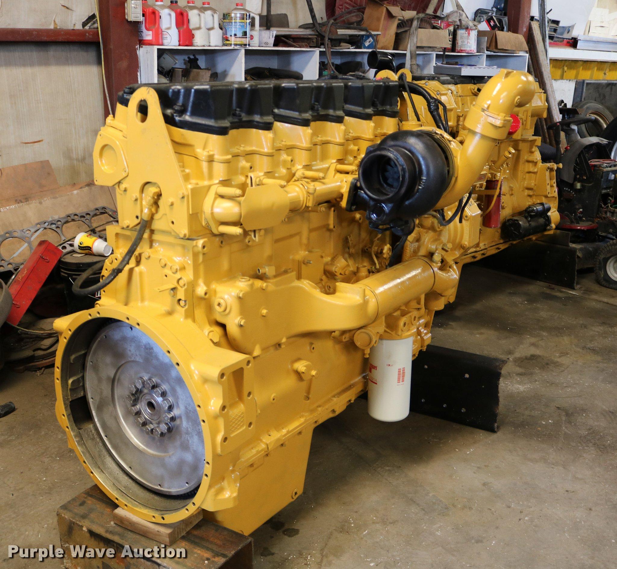 Caterpillar 2WS six cylinder turbo diesel engine | Item DM92