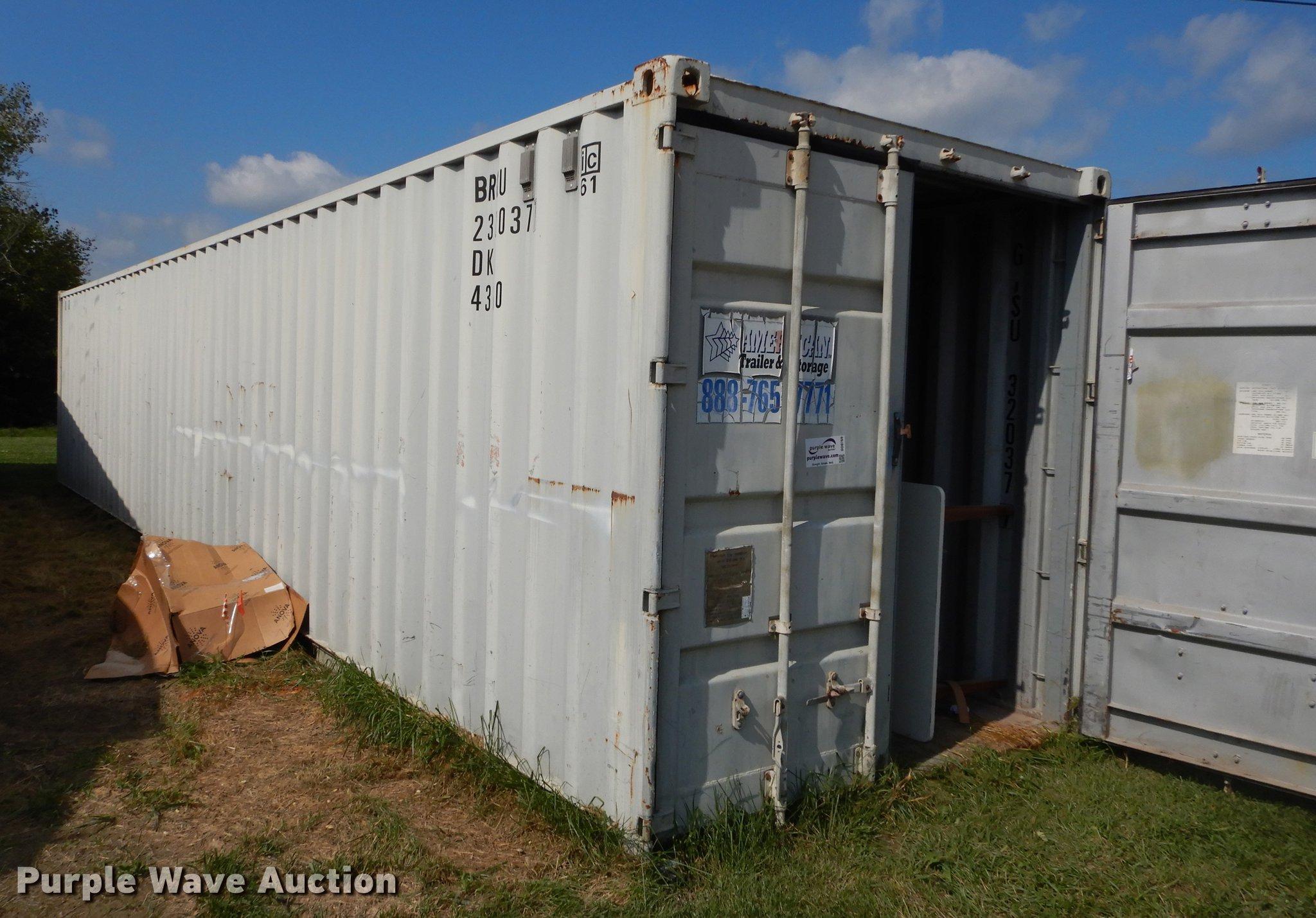 1988 Conex storage container Item DD0769 SOLD October 1