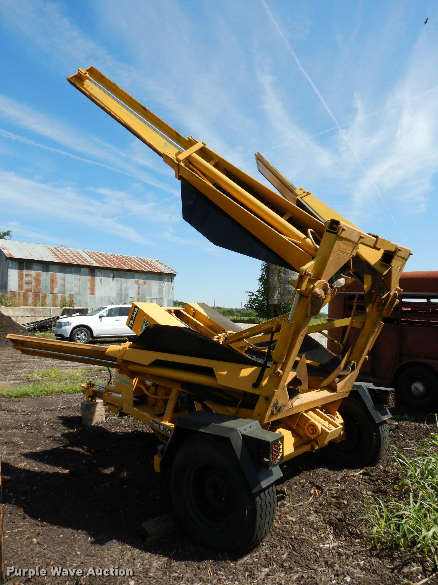 Vermeer TS-44A tree spade | Item DD0849 | SOLD! October 11 V