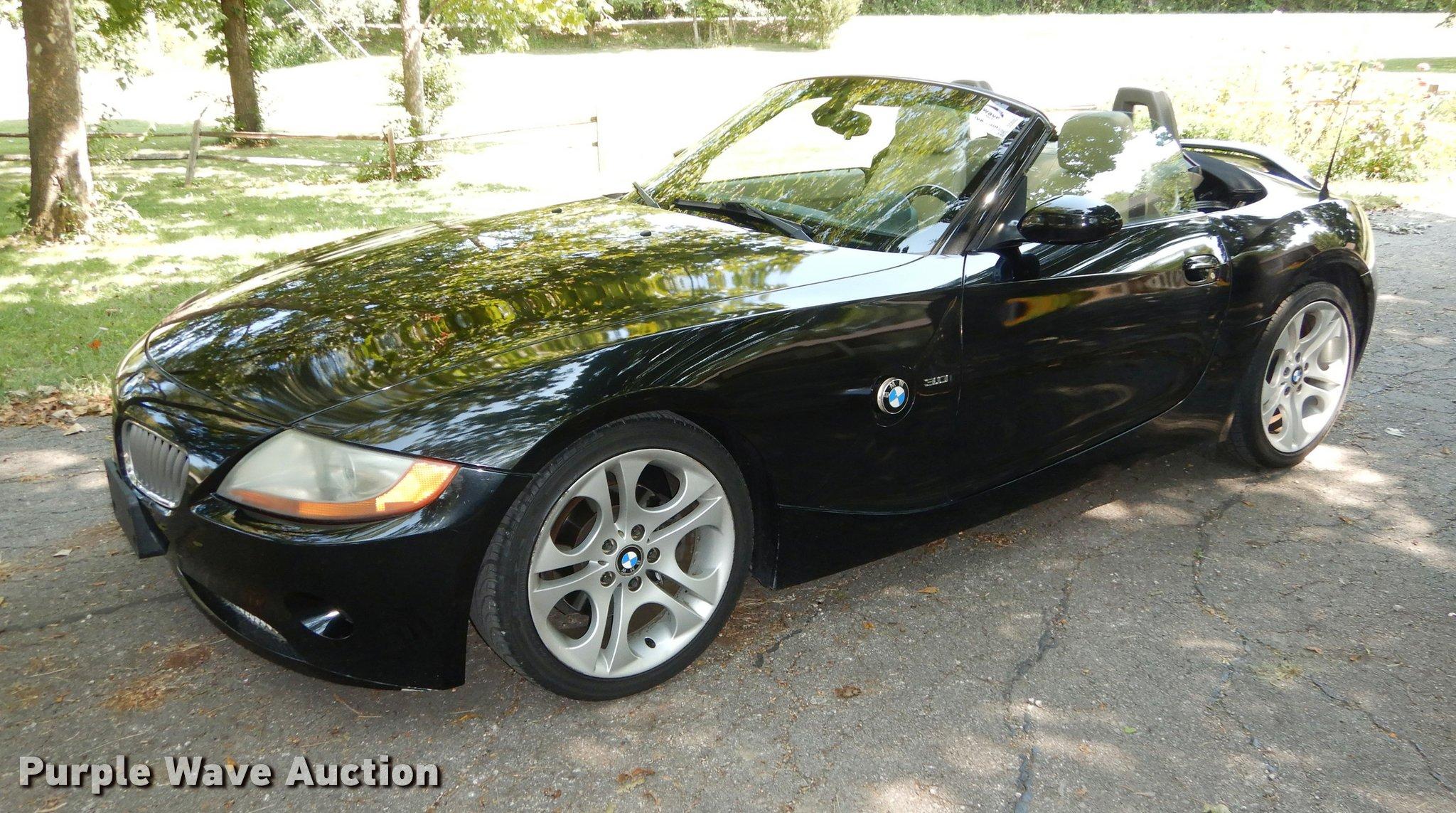 2003 bmw z4 convertible | item dd0851 | sold! october 11 veh