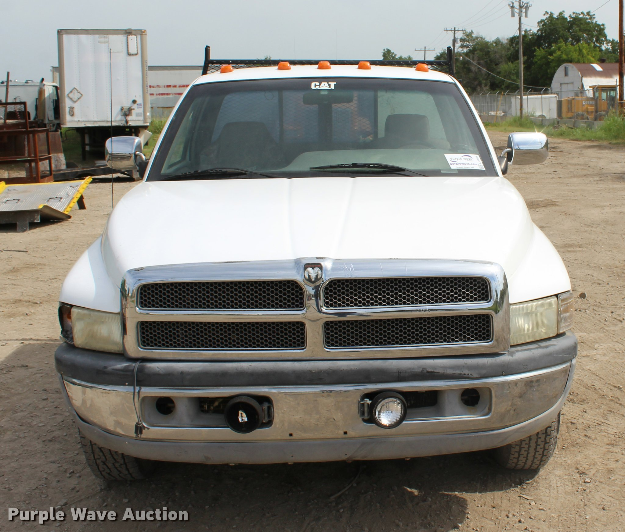 1994 Dodge Ram 2500 Flatbed Pickup Truck Item L3194 Sold Full Size In New Window