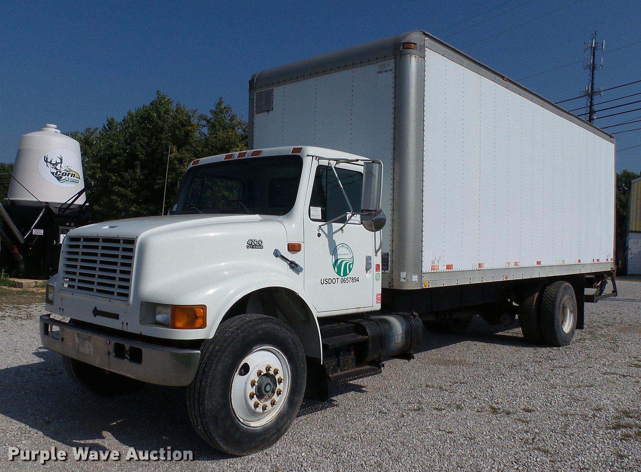 97 International 4700 >> 1997 International 4700 Box Truck Item Dc2588 Sold Octo