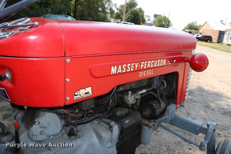 1965 Massey Fergusen MF-65 tractor   Item DW9772   SOLD! Oct