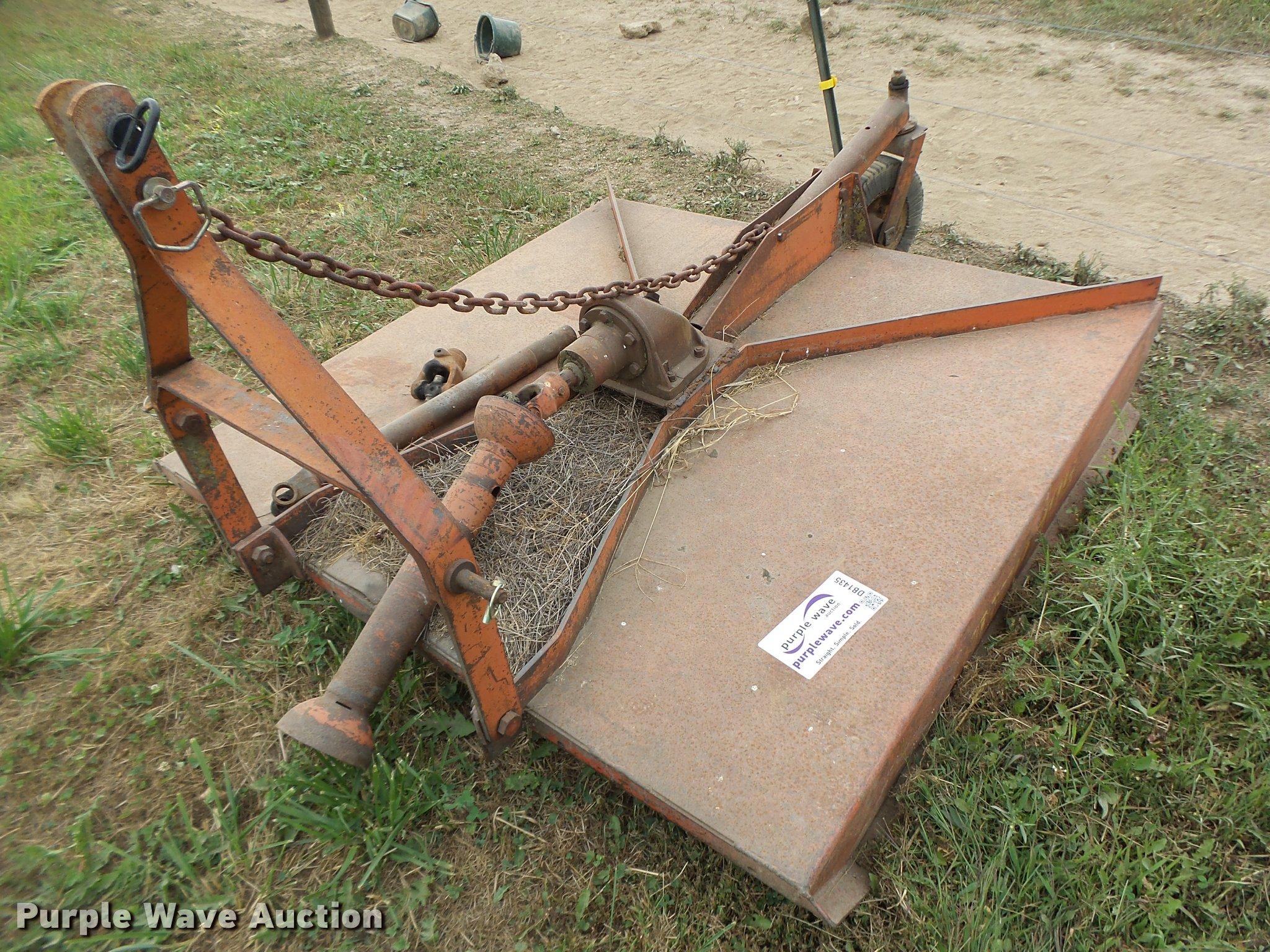 Bush Hog 105 rotary mower | Item DB1435 | SOLD! October 18 A