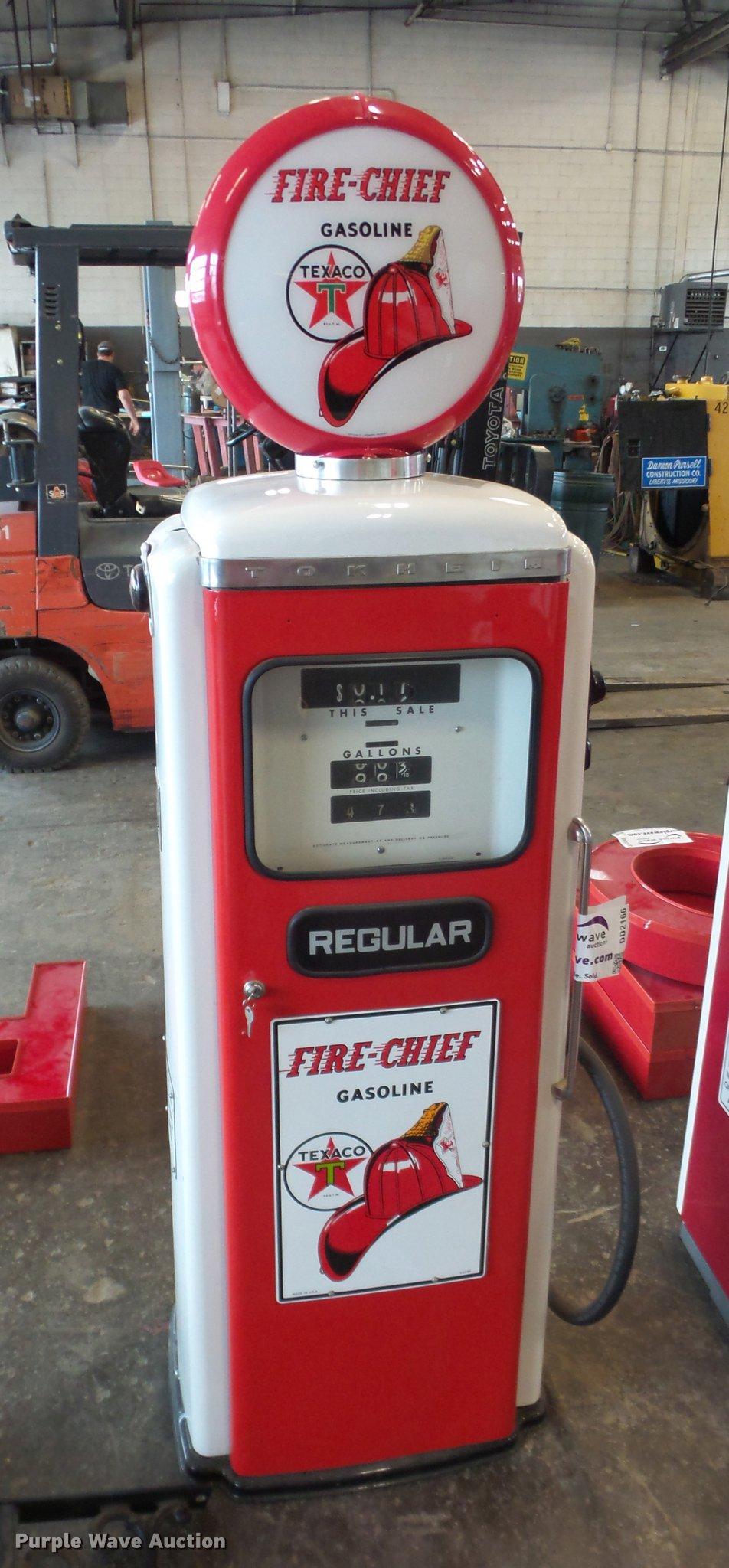 Texaco Fire Chief gas pump | Item DD2166 | 10-18-2017