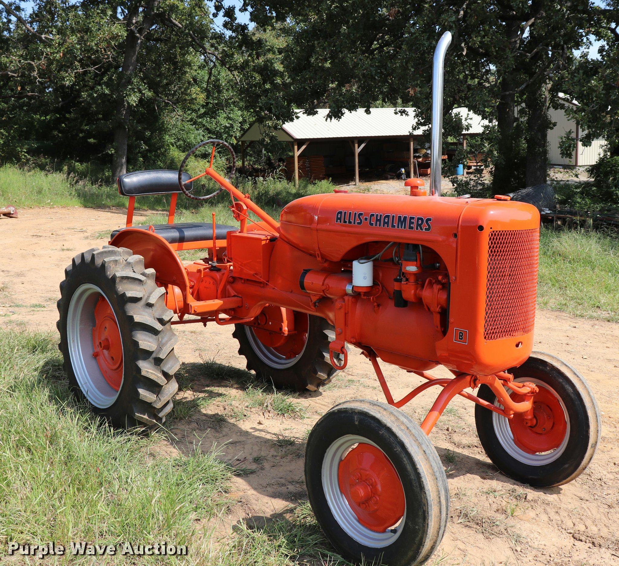 1949 allis chalmers b tractor item dq9351 sold october rh purplewave com Allis  Chalmers CA allis chalmers model b value