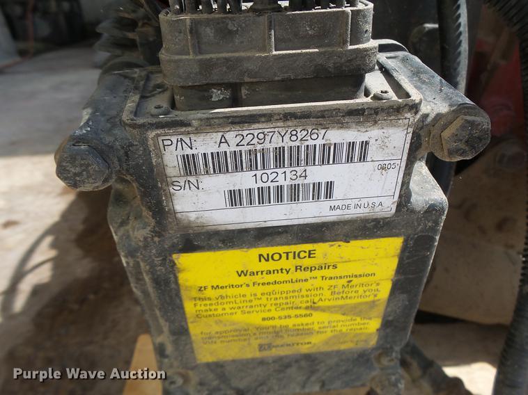 meritor automatic transmission