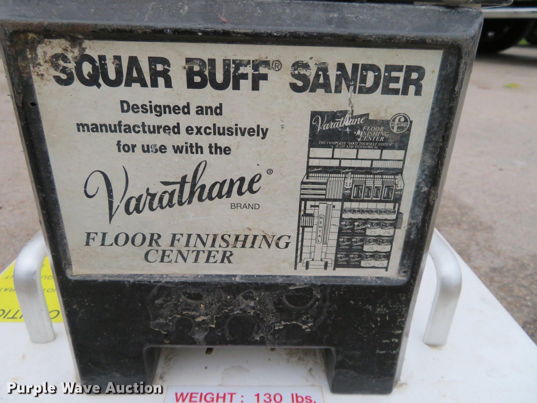 Square Buff Floor Finishing Sander Item Di9882 10 25 2017